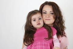 Moeder met dochter Royalty-vrije Stock Afbeeldingen