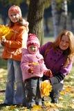 Moeder met dochters Royalty-vrije Stock Fotografie