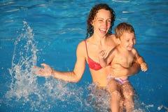 Moeder met het kind royalty-vrije stock foto's