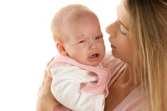 Moeder met kind Royalty-vrije Stock Foto