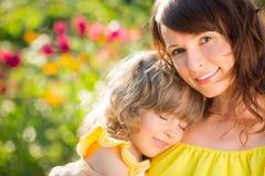 Moeder` s dag Royalty-vrije Stock Afbeeldingen