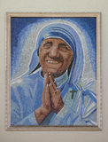 Moeder Teresa royalty-vrije stock foto's