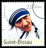 Moeder Teresa Postage Stamp Royalty-vrije Stock Foto's