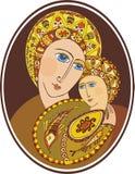 Moeder van God Stock Foto's