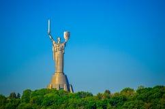 Moeder van het monument van het Vaderland stock fotografie