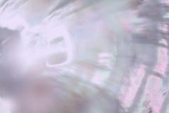 Moeder van Parel achtergrond shimmery prismakleuren Stock Foto