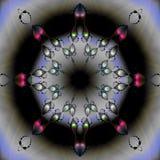 Moeder van parel fractal Stock Fotografie