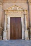 Moederkerk van Fasano Puglia Italië Stock Foto