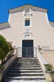 Moederkerk van Morano Calabro Calabrië Italië Stock Foto