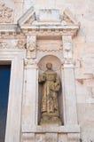 Moederkerk van Polignano een merrie Puglia Italië Royalty-vrije Stock Afbeelding