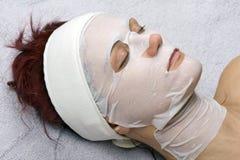 Moederkoek-collageen masker Royalty-vrije Stock Afbeelding