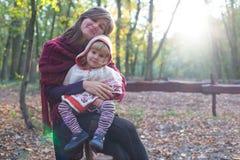 Moederlijke Liefde Stock Afbeelding