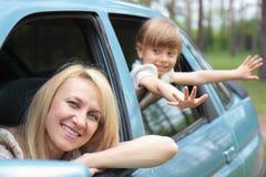 Moeders en dochter Stock Foto's
