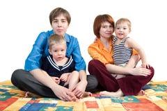Moeders en zonen Stock Afbeelding