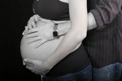 Moederschap stock foto
