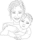 Moederschap Stock Afbeelding