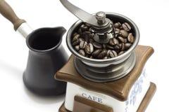 Moedor de café imagens de stock