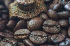 Moedor de café Imagem de Stock Royalty Free