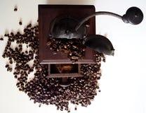 Moedor de café antigo Fotos de Stock