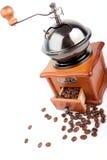 Moedor de café antiquado fotografia de stock royalty free