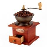 Moedor de café de cobre velho Imagens de Stock Royalty Free
