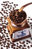 Moedor de café do vintage Imagem de Stock Royalty Free