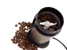 Moedor de café elétrico fotos de stock