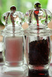 Moedores de sal e de pimenta Fotografia de Stock Royalty Free
