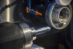 Moedores do CNC para moinhos de extremidade de recondicionamento ou de fabricação, dril fotos de stock royalty free