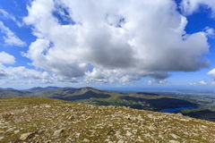 Moel Eilio from Elidir Fach Royalty Free Stock Image