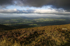 Moel Famau View Royalty Free Stock Images