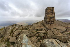 Moel Siabod Trig Point Royalty Free Stock Photography