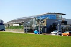 Moeler auto shop in Vilnius city on April 9, 2015 Royalty Free Stock Image