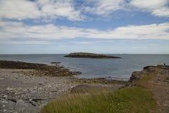 Moelfre-Küste Stockbilder