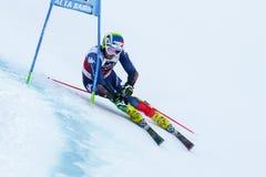 MOELGG Manfred nel gigante di Men's della tazza di Audi Fis Alpine Skiing World Immagine Stock