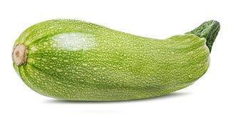 Moelle /courgette de légume frais d'isolement sur le blanc Photos stock
