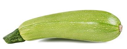 Moelle /courgette de légume frais d'isolement sur le blanc Photographie stock