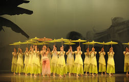 Moellendorfii Selaginella η hieron-δεύτερη πράξη των γεγονότων δράμα-Shawan χορού του παρελθόντος Στοκ φωτογραφία με δικαίωμα ελεύθερης χρήσης