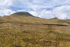 Moelwyn Mawr-Gipfel lizenzfreies stockfoto