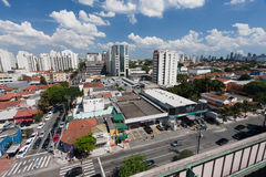 Moema Neighbourhood in Sao Paulo Stock Photo