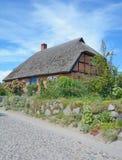 Moenchgut, ilha de Ruegen, mar Báltico, Alemanha Imagem de Stock Royalty Free