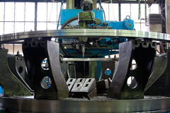 Moer-máquina azul industrial 2 Fotografia de Stock