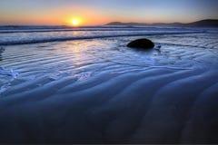 moeraki новый Тихий океан zealand свободного полета валунов Стоковая Фотография RF