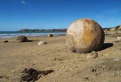 Moeraki boulders Stock Image
