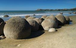 Moeraki boulders Royalty Free Stock Image