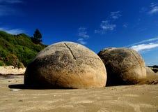 The Moeraki Boulders Royalty Free Stock Images