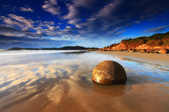 Free Moeraki Boulders, New Zealand Stock Photography - 35921772