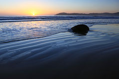 Moeraki Boulders Royalty Free Stock Photos