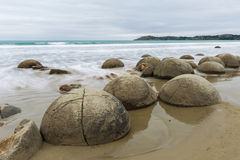Moeraki Boulders, South Island New Zealand Royalty Free Stock Photos
