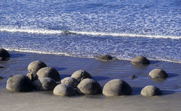 The Moeraki Boulders Royalty Free Stock Photography